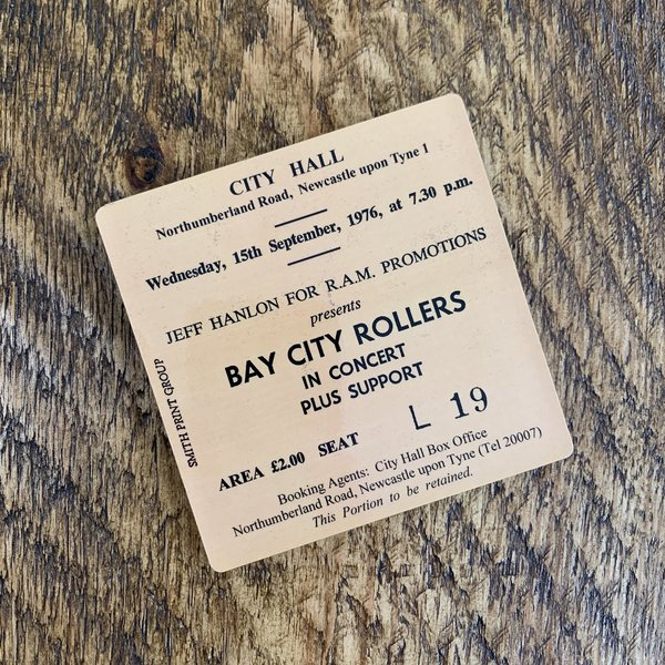 Bay City Rollers city rollers coaster