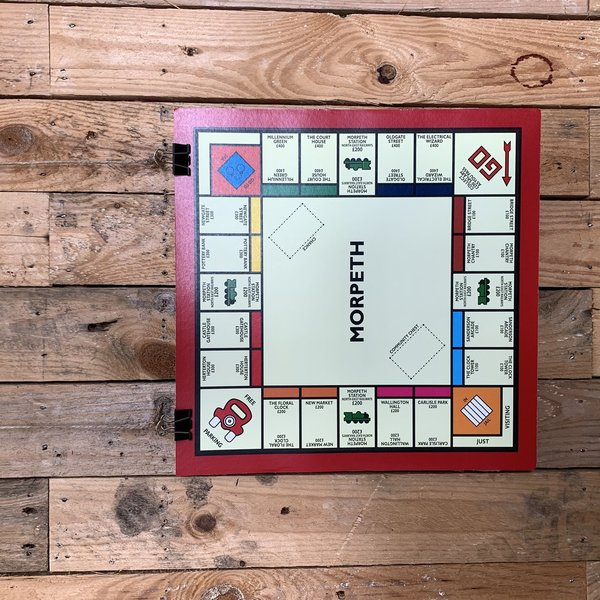 Morpeth Places Monopoly Print