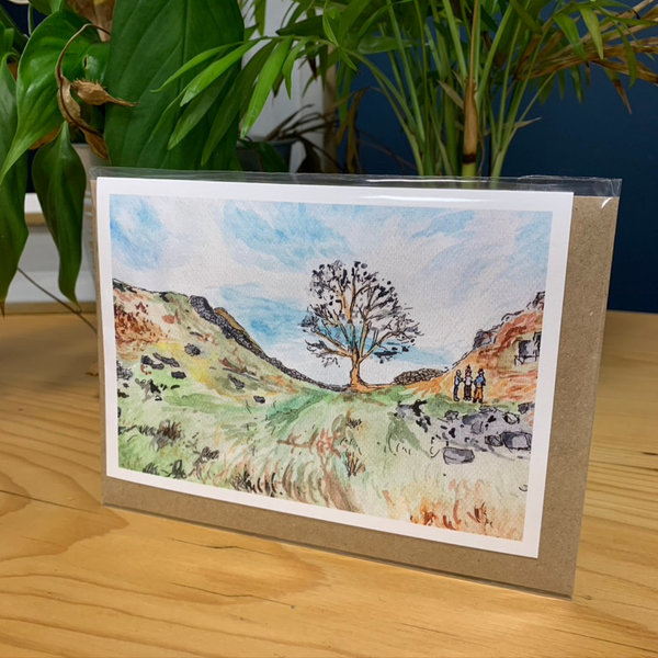 Sycamore gap card